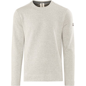 super.natural Vacation Knit Crew Trui Heren, grey melange